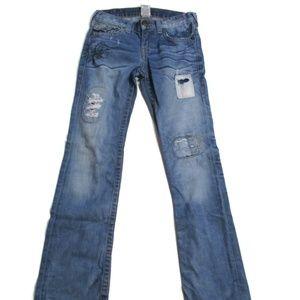True Religion Boy's Ricky Distressed Jeans 10